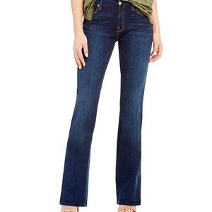 7 FOR ALL MANKIND Kimmie Stretch Boot Cut Mid Rise